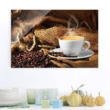 glasbild kaffee am morgen quer 3 2