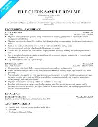 Clerical Assistant Resume Examples Sample General Office Clerk Resumes In For Helpful Template Store Compatible More With Medium Temp