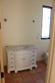 Allen And Roth Bathroom Vanity by Dusty Coyote Tile And Bathroom Progress