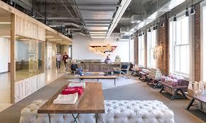 100 Exposed Ceiling Design Brick Walls Concrete Define The New Yelp Headquarters