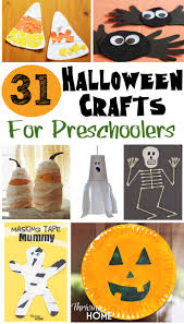 Halloween Books For Kindergarten by 31 Easy Halloween Crafts For Preschoolers Thriving Home