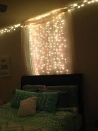 Bedroom String Lights Photo