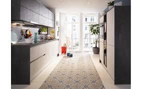 flotter zweiteiler die küche global 51 180 mit fronten in beton weißgrau und anthrazit nachbildung