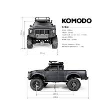 Gmade | Komodo RC Truck 4x4 RTR Off-Road Driving 19.92