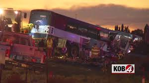 NMSP: 7 Killed In Greyhound Bus, Semi Crash On I-40 | KOB 4 Texas Lobo Trucking Llc Wwwimagenesmycom Et Football Williams Anderson Provide Onetwo Punch For Lobos East Out Of Mojave Hwy 58 California Part 2 Hobbs New Mexico Petroleum Service Cargo Archives Project Weekly Hemisphere Freight Services Limited Nm