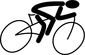 File Pictgram Bicycle Man Bike Svg Clipart Transparent Stock