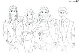 Descendants 2 Coloring Pages Together With Ideas Evie And Mal