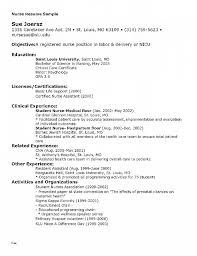 Registered Nurse Cv Sample Nursing Resume Unique Beautiful Nurses Template