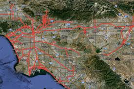 100 Sunset Plaza Apartments Anaheim Mapping The Historic Routes And Few Remains Of Los Angeless