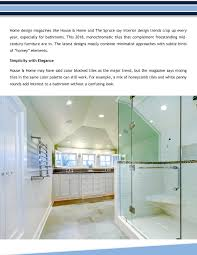 100 Modern Home Design Magazines Mixing Traditional With Is The Bathroom Trend Today Pages 1