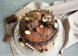 schokoladen nutella torte