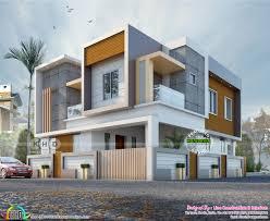 100 House Designs Modern Box Type 4 BHK Contemporary House Plan Kerala Home Design
