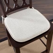 100 The Gripper Twill 2 Pc Rocking Chair Pad Set Lavish Home 16 In X 16 In Beige Memory Foam 6905B