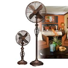 Decorative Oscillating Floor Fans by Prestige Rustica U2013 Floor Stand Fans Collection Shopsheonline