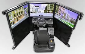 100 Truck Driver Simulator Mobile Training Unit FAAC