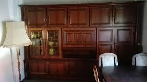 mahagoni wohnzimmer schrank zu verschenken in 67551
