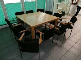 tisch mit 11 stühlen zu verschenken in nordrhein westfalen