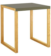 table a manger habitat kilo table de salle à manger en métal et chêne massif www habitat