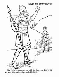 Find This Pin And More On Childrens Bible Hour David Goliath Coloring Pages
