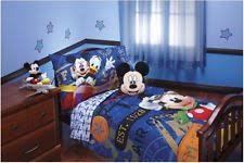 mickey mouse clubhouse toddler 4 pc bedding set kids bed conforter
