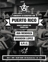 Puerto Rico Fundraiser: Ava Mendoza / Brandon Lopez / S.P.I.C. ... Scolhouse Screaming Females At The Silent Barn March 6 Walter Cristy Road Shira Mallrat Record Release April Mei Best Nyc Radio Stations Running Out Of Galleries And Diy Spaces Puerto Rico Fundraiser Ava Mendoza Brandon Lopez Spic Brooklyn Utopia One Structure To Sustain You Selena Lives On And More Art Openings Bushwick Project For The Arts Pinact Living Hour Tickets Ny Skin In City A New Game Medium