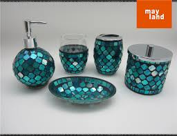 Purple Crackle Glass Bathroom Accessories by Glass Bathroom Accessories Sets Glass Bathroom Accessories Sets