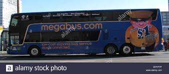 megabus com low cost tickets megabus low cost express in san francisco california stock