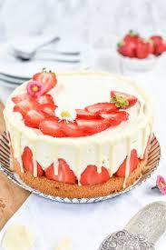 rezept für einen erdbeer schokoladen cheesecake zuckerdeern de