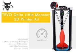 Delta Woodworking Machinery South Africa by Tevo Little Monster Delta 3d Printer Diy Kit 220v 799 99 Online