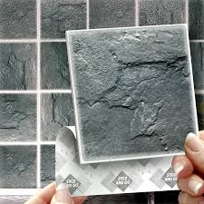 Smart Tiles Peel And Stick Australia by 18 Slate Effect Wall Tiles 2mm Thick And Solid Self Adhesive