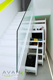 Prolific White Wooden Pull Out Cabinetry Storage Under Stairs For ... Glass Stair Rail With Mount Railing Hdware Ot And In Edmton Alberta Railingbalustrade Updating Stairs Railings A Split Level Home Best 25 Stair Railing Ideas On Pinterest Stairs Hand Guard Rails Sf Peninsula The Worlds Catalog Of Ideas Staircase Photo Cavitetrail Philippines Accsories Top Notch Picture Interior Decoration Design Ideal Ltd Awnings Wilson Modern Staircase Decorating Contemporary Dark