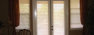 French Door Treatments Ideas by 3 Blind Mice Window Coverings Custom Window Treatments