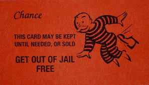 Get Out Of Jail Free Card Photograph Monopoly Chance Clip Art