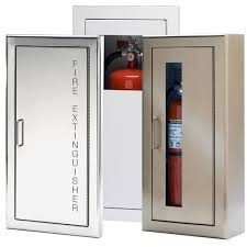 Larsens Fire Extinguisher Cabinets 2409 R7 by Wall Mounted Fire Extinguisher Cabinet Bar Cabinet