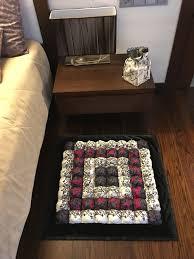 blase quilt puff quilt keks quilt decke schwarz weiß lila