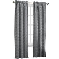 Jcpenney Silver Curtain Rods by Sun Zero Dion Rod Pocket Curtain Panel