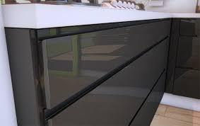 photo de cuisine design une cuisine design sans poignée cuisines rema