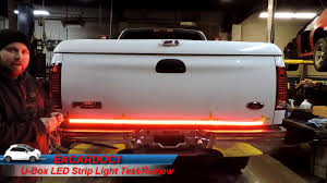 U-Box 60 Inch LED Strip Light Test And Review - YouTube Oracle Engine Bay Led Lighting Kit 60 Rear Brake Tailgate Light Strip Bar Truck Pickup For Suv Car Interior Multicolor 8 Steps With Pictures 20 Traxxas Emaxx Deluxe Set Rclighthouse Flow Strip Trunk Light Youtube Led Strips For Trucks Lights Decor How To Install Access Bed Color Chaing Strips With Remote Sale In Barnet Xkglow App Wifi Controlled Strip Undercar Under Body Ledambient Tuning Lights Breathe New Life Into Your Vehicle 60inch X 2 With 48 Redwhite Reverse Stop Turn