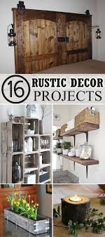 16 DIY Rustic Decor Projects
