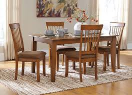 Picture Of Berringer 60 Inch Hickory Table With Four Chairs