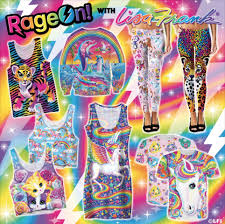 Lisa Frank Launches New Clothing Line Adult Coloring Book