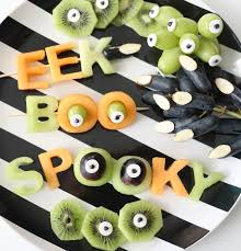 Healthy Halloween Candy Alternatives by A Kailo Chic Life Eat It A Spooky Halloween Fruit Plate