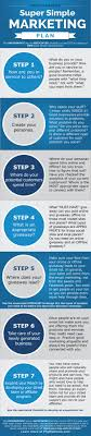 Super Simple Marketing Plan Template Infographic