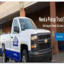 100 One Way Rental Truck Pickup