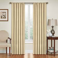 Jcpenney Brown Sheer Curtains by Amazon Com Eclipse 10707042x063ca Kendall 42 Inch By 63 Inch