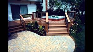 Small Patio And Deck Ideas by Small Patio Decks Ideas Youtube