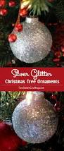 Rice Krispie Christmas Trees Recipe by Silver Glitter Christmas Tree Ornaments Two Sisters Crafting