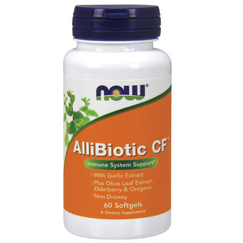 Now Foods, AlliBiotic CF - 60 Softgels