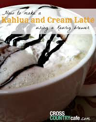 Keurig 20 Pumpkin Spice Latte by Keurig K Cup Coffee Recipe Kahlua And Cream Latte