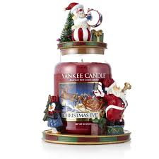 Qvc Christmas Tree Hugger by Yankee Candle Christmas Circus Jar Holder Topper U0026 Large Jar